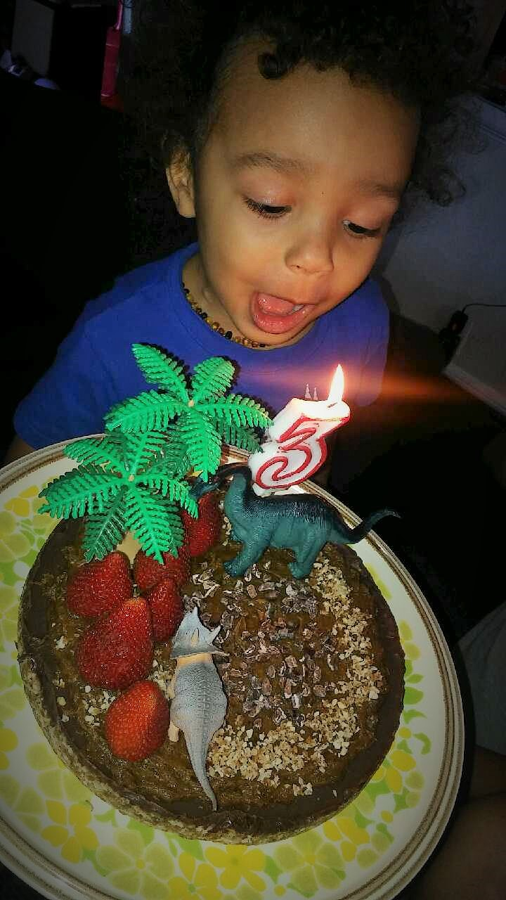 Raw Vegan Birthday Cake Happy Birthday Baby Boy
