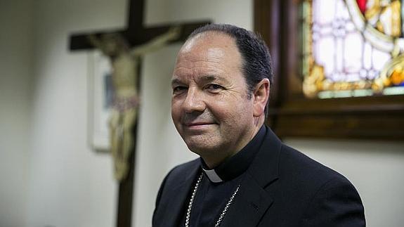 El obispo de Vitoria, Juan Carlos Elizalde