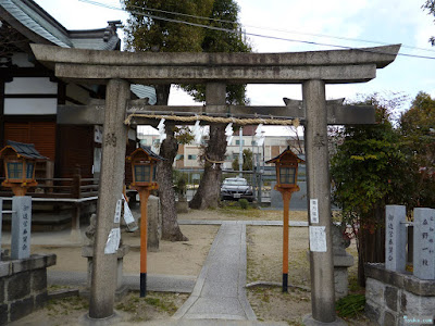 鼻川神社鳥居