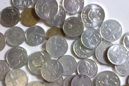 Uang logam pecahan dua Ratus dan Seratus Rupiah sudah tidak laku di pedagang