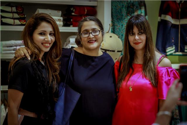 Bandana, Alia and Priya Rana at the Fall Winter Collection Launch by La Martina
