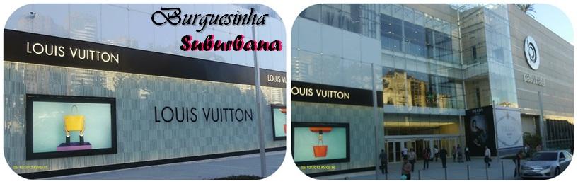 78fba3834 Bom esta fachada da Louis Vuitton ficou o luxo só!!! Esta loja só tem 4 no  brasil