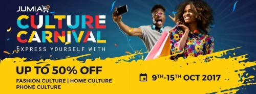Jumia Culture Carnival is ON! Enjoy Up to 50% Discount and Catch SIMI Live