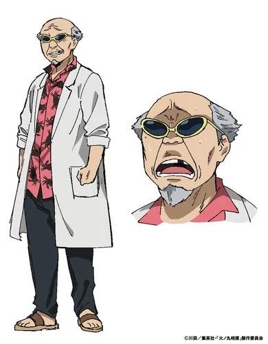 Demon Kakka (anteriormente Demon Kogure), líder de la banda Sekima II, se unirá elenco del anime como el personaje Dr. Kanie.