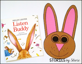 After reading one of the stories, students can create this bunny craft. Students can write what it means to be a good listener on the bunny's ears.