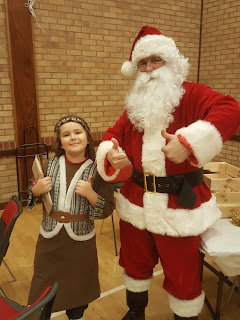 Dan Jon Jr and Father Christmas