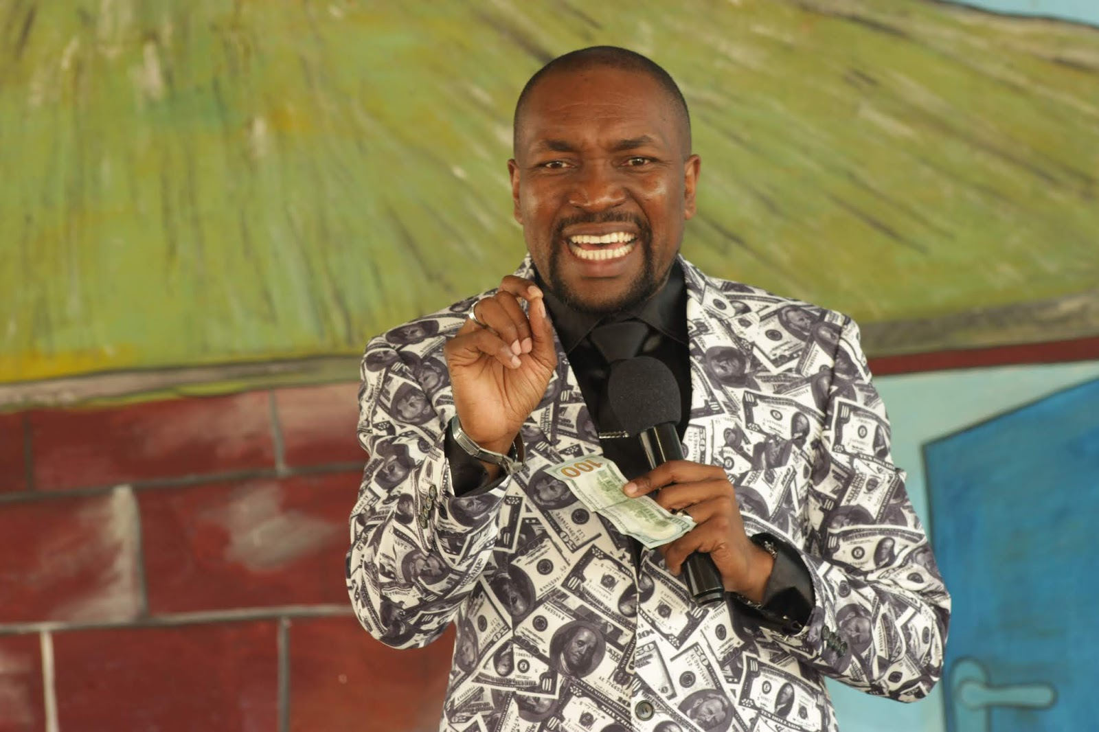 Prophet Blessing Chiza Teaches On Mastering Money At Tiyambuke 2018
