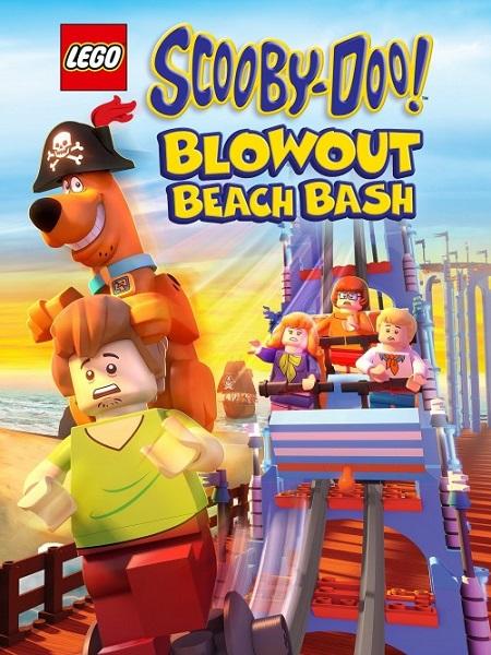 Lego Scooby-Doo! Blowout Beach Bash (Lego Scooby-Doo! Fiesta en la Playa de Blowout) (2017) 720p WEBRip 2.5GB mkv Dual Audio AC3 5.1 ch