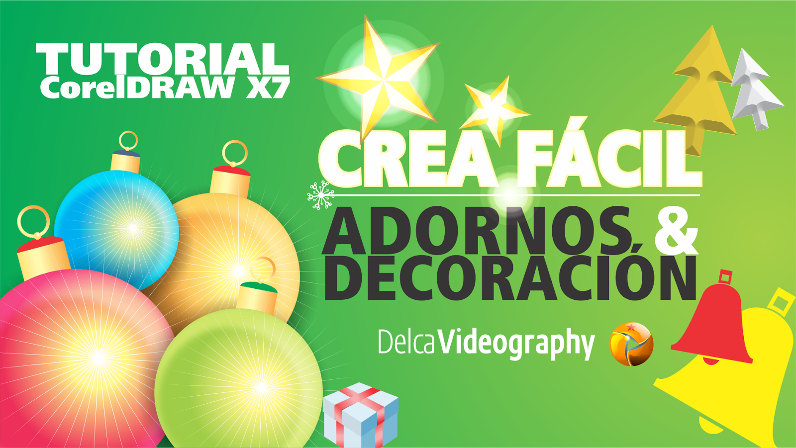 DelcaVideography Official Site: TUTORIAL 4 COREL DRAW X6, X7