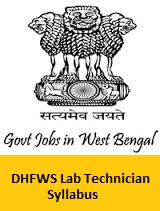 DHFWS Lab Technician Syllabus