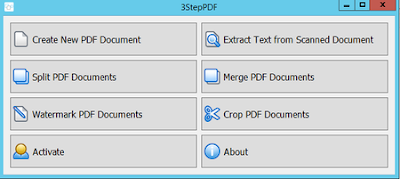 Screenshot 3StepPDF 1.2 Full Version