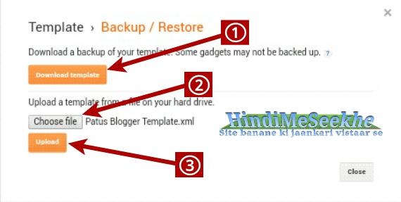 Blogger-blogspot-template-theme-upload