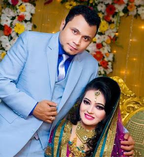 Mishu Sabbir And His Wife Shamma Holud Wedding Photos