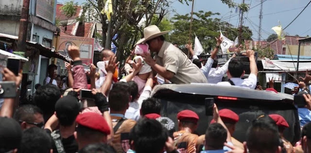 Inilah Alasan Prabowo Awali Kampanye Terbuka di Manado