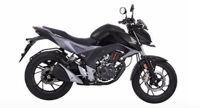 Honda CB Hornet 160R black color