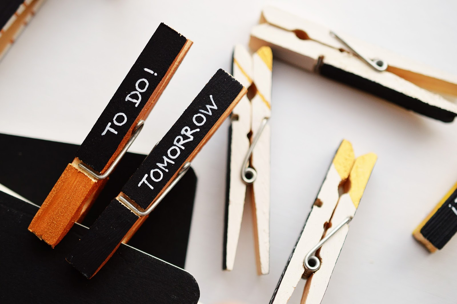DIY Clothespin Markers | Motte's Blog