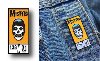 "San Diego Comic-Con 2018 Exclusive Misfits ""Comic Fiend"" Enamel Pin by Yesterdays"