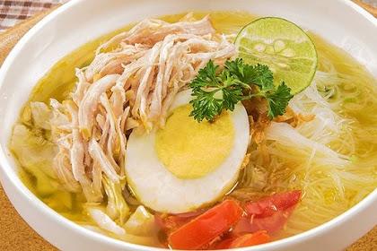 Resep dan Cara Membuat Soto Ayam Kuah Bening Sederhana, Enak dan Lezat