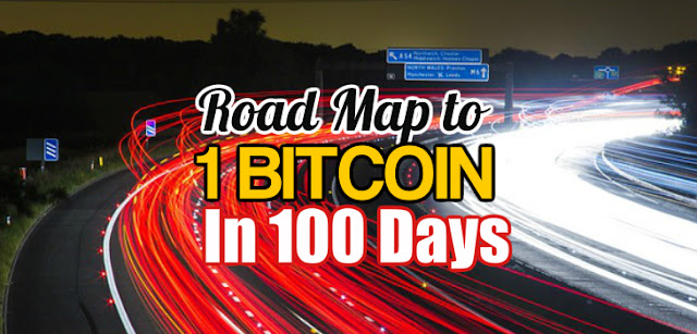 Road Map to making 1 Bitcoin in 100 Days.