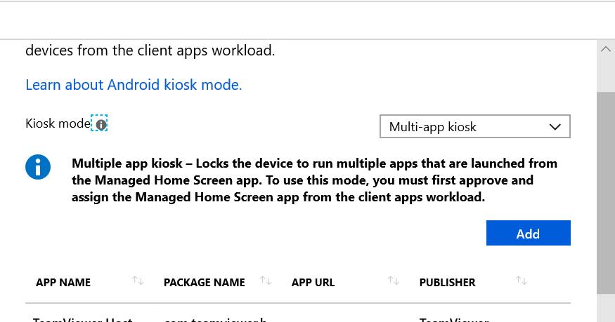 Leon's IT Blog: New Intune Android Enterprise Kiosk Settings