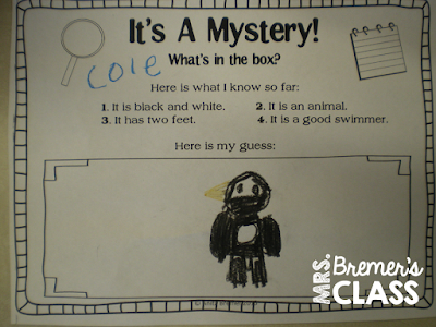 Literacy Activities that use a penguin 'pest' who messes with the morning message...an engaging way to get students involved in literacy activities as they help to fix the messages! #morningmessage #kindergarten #penguin #literacy #kindergartenliteracy