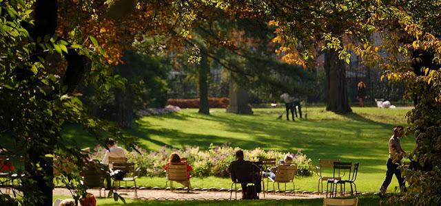 Jardim de Luxemburgo para crianças em Paris