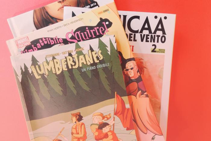 fumetti al femminile con donne come protagoniste