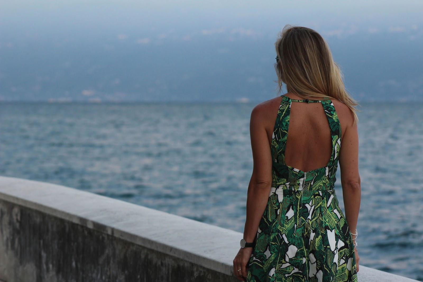 Eniwhere Fashion - SheIn Salò - Green dress