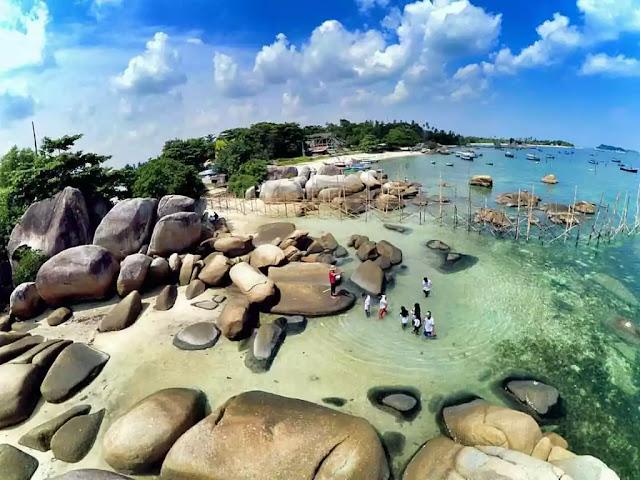 Pesona Keindahan Wisata Pantai Tanjung Kelayang Belitung Terbaru 2019