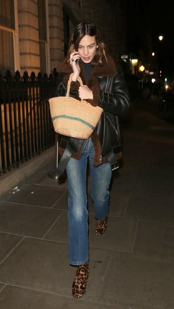 Recreate Alexa Chung's Crazy Cool Winter Outfit