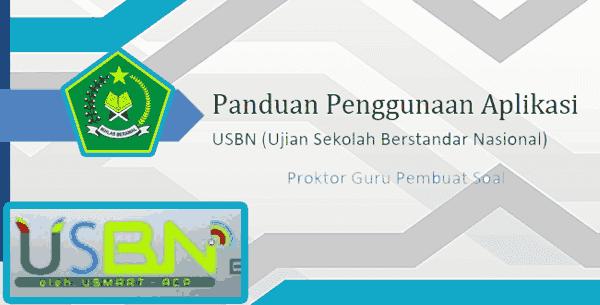 Download Buku Panduan USBN-BK Untuk Guru Madrasah Terbaru