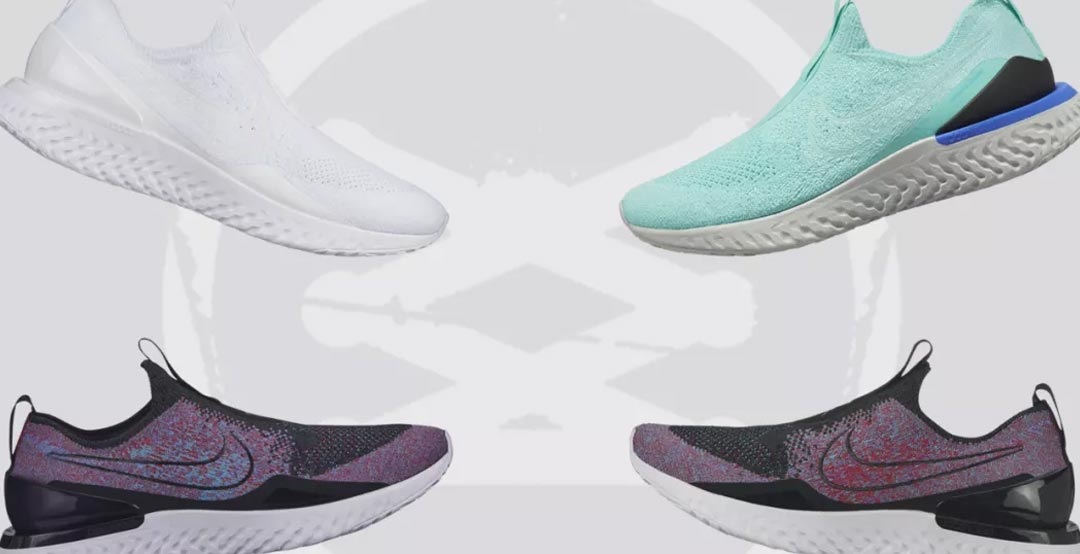 f08b2bbb05fb Nike has revealed the first-ever laceless version for its Nike Epic Phantom  React Flyknit running shoes. The shoe is called Laceless Nike Epic Phantom  React ...