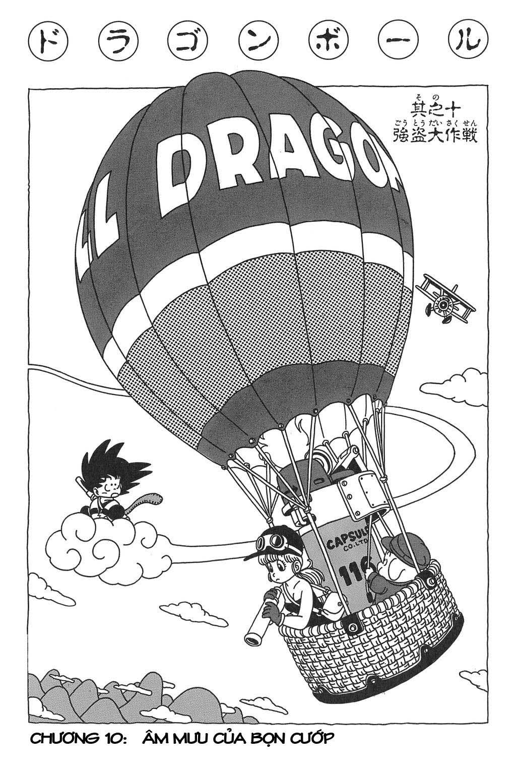 Dragon Ball chap 10 trang 1