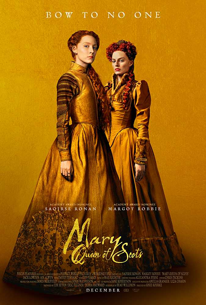Poster Mary Queen of Scots 2018 English HD 720p