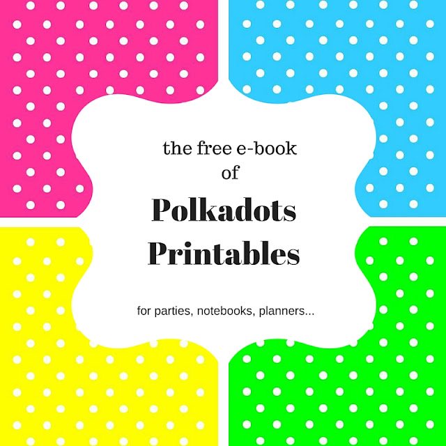 free e-book of polkadots printables