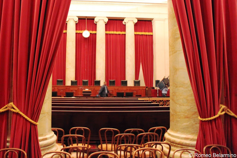Supreme Court Courtroom Washington, DC