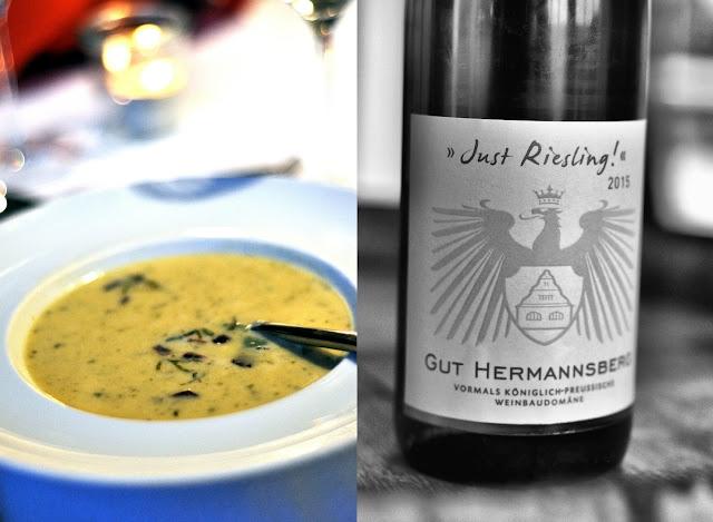 Weinschmecker-Menü Gut Hermannsberg 2 Gang