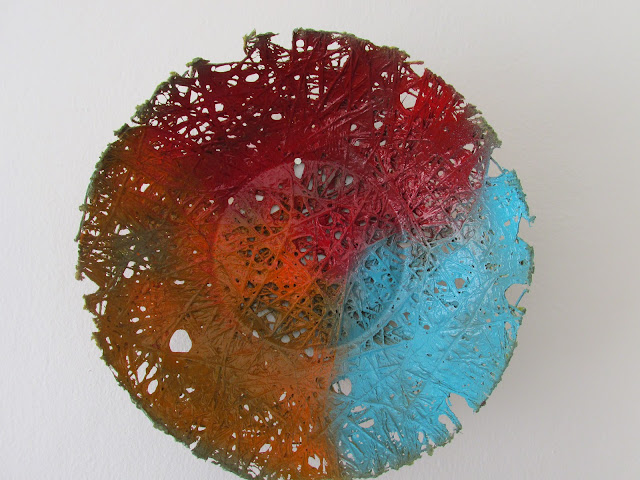 The Entanglement;  Abstract Art; Rope bowl, BY MIABO ENYADIKE