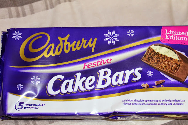 Cadbury's Festive Cake Bars