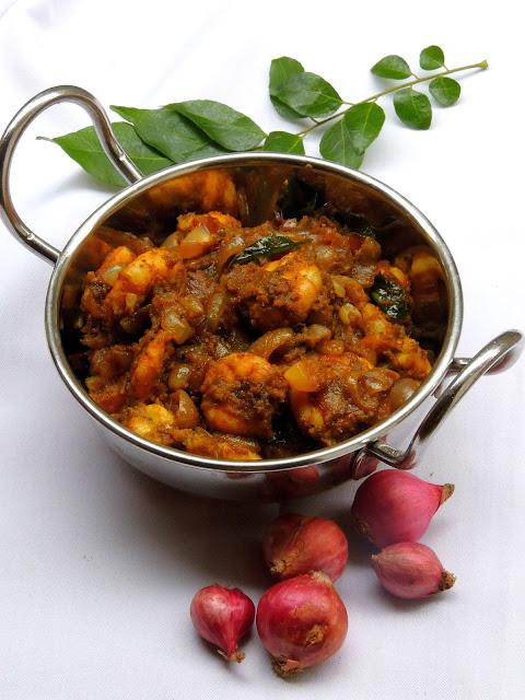 Chettinad Prawn Masala, Spicy Prawn Thokku, Eral Thokku