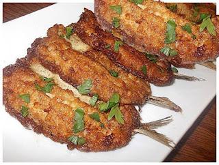 Recette des Beignets de sardines au persil réalisé par Nabila Aube