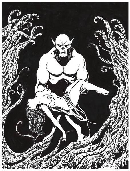 Sari Art Yunque Kraken