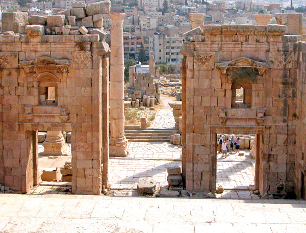 Propileo (Jerash, Jordania)