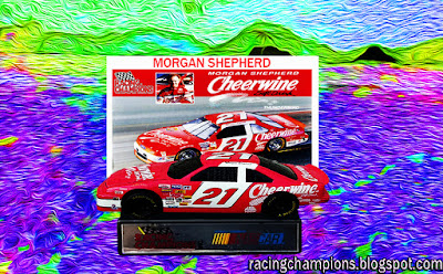 Morgan Shepherd #21 Cheerwine Racing Champions 1/64 NASCAR diecast racing blog BGN Busch Age 2017