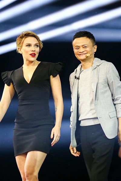Scarlett Johansson – Tmall 11:11 Global Shopping Festival Gala in Shenzhen