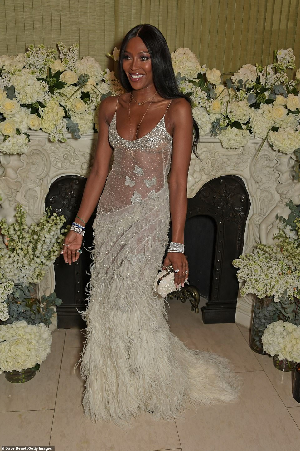 Naomi Campbell and beau Liam Payne attend Vogue BAFTA party amidst romance rumours