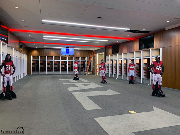 The lockers