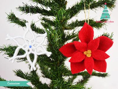 come realizzare una stella di Natale riciclando maglioni infeltriti in lavatrice.