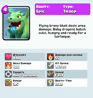 clash royale game baby dragon card strategy