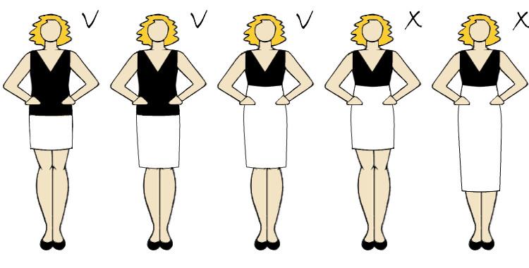 spódnica ciążowa która ładnie podkreśli brzuszek fason długość